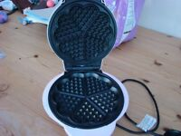 Pink Waffle Maker. Only used a couple of times. VGC. £8. Torquay