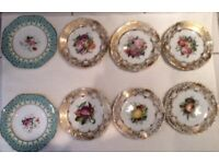 Selection of Antique Plates for Sale