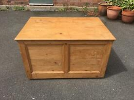 Antique Pine Large Chest