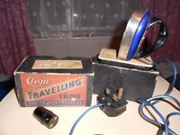 Retro/Shabby chic travel iron