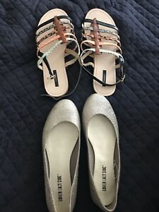 Ladies sandals and shoes