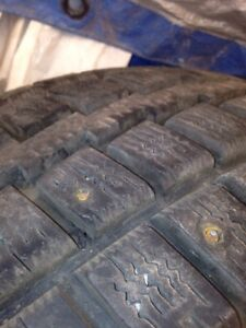 "Studded winter tires 16""  truck tires"