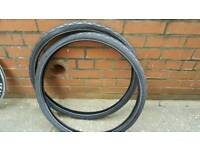 Brand new cycle tyres