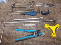 tools assortment of