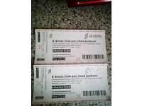 2x K-class tickets (widnes)