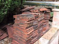 Rosemary roof tiles aprox 500 plus 50 hip tiles good condition
