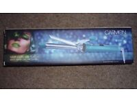 Carmen C81003L Hair Curling Tongs in Lime. (Brand New)