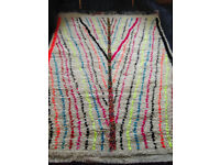 NEW Wool Moroccan/Morocco Rug