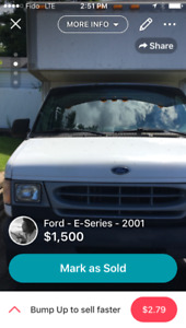 2001 Ford E-350 Cube 14inch Other