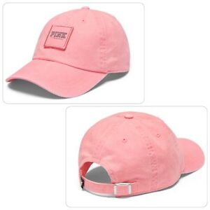 Pink Baseball Hat in Coral Blossom - Brand New