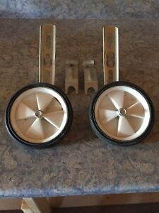 Bicycle training wheels