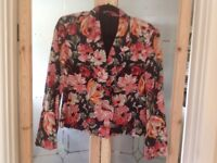 Floral NextCollection Jacket size 12