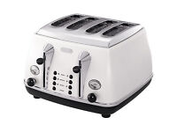 4 slice DēLonghi toaster in very good condition only £15