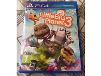 Little Big Planet 3 On PS4