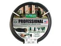 2 X Brand New, Flexon Professional Commercial Grade HosePipe 30M/100F EACH ONLY £60.00 DELIVERED