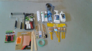 Painting Supplies - Brushes, Rollers, Accessories