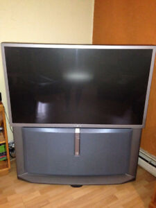 Free Sony HD projection big screen TV
