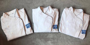 2 George Brown Chef Jackets