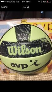 Wilson AVP Glow in The Dark Volleyball