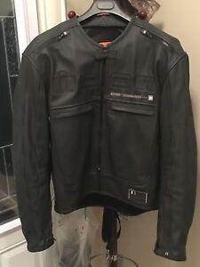 Black ICON Motorcycle jacket - Barely used - Size XL