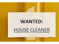 CLEANER WANTED £9 PER HOUR FLEX HOURS