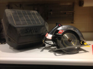 Circular saw 11 amps (skil) with carryng case