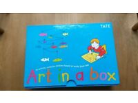 Art in a Box activity cards from Tate Gallery