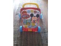 Mickey Mouse walker