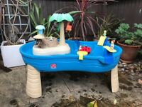 Step 2 Tropical Island Resort Sand and Water Table