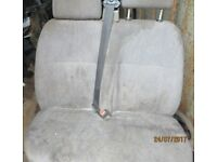 2 x Twin Transit Seats & Diesel Fuel Tank for 52 plate