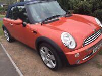 Stunning Mini Cooper Convertible