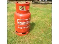 Calor gas 6kg propane full