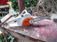 STIHL CHAINSAW ELECTRIC CARVING/STANDARD FOR SALE MSE 14.0C