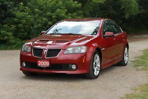 2009 Pontiac G8 Leather | Sunroof | CERTIFIED