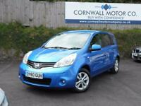 NISSAN NOTE 1.4 ACENTA 5d 88 BHP NEW MOT AND SERVICE (blue) 2010