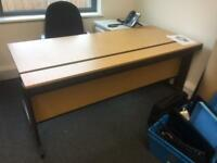 LARGE OFFICE DESK 1800 x 80mm. CAN DELIVER.