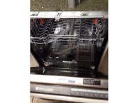 Integrated Hotpoint Dishwasher £80