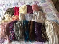 18 scarves