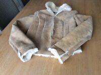 Ladies size 8 ( American size 5) sheepskin jacket