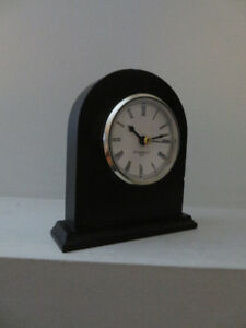 small Black Mantle Clock (from mom's house)