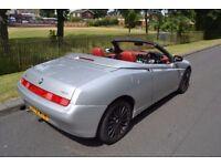 Alfa Spider 2.0 TS Manual Convertible - Perfect Summer Car Future classic.