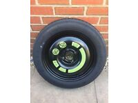 "Brand New 15"" 4x108 Peugeot Space Saver w/ 125/80/15 Tyre"