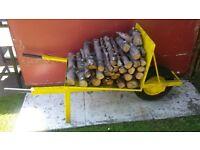 garden ornamental log barrow