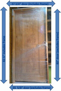 NEW WINERY DOOR FOR SALE: Solid Carved Brazilian Mahogany