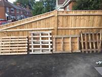 FREE 4 Pallets (garden/ wood/ planter)