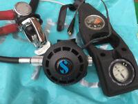 2 sets Scuba regulators and Buoyancy Compensator Scubapro