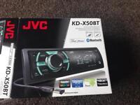 JVC KD X50BT stereo
