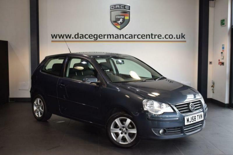 2008 58 VOLKSWAGEN POLO 1.4 MATCH 3DR 79 BHP