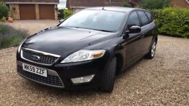 Ford Mondeo Estate Black Diesel Manual 2.0 TDCi Titanium 5dr