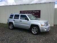 Jeep Patriot 2.0 CRD Limited (2008) *Diesel *Four Wheel Drive *Part Ex Welcome